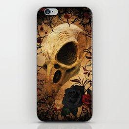 Ravens & Roses iPhone Skin