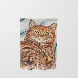 Ginger Cat Wall Hanging