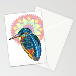 Madala kingfisher Stationery Cards