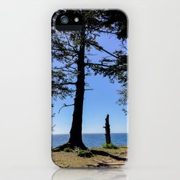 Life Stages of a Tree iPhone Case