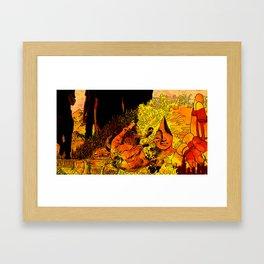 Celebrating Anberlin Framed Art Print