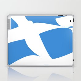 Greek Flag the Wisdom of God, Freedom and Country Laptop & iPad Skin