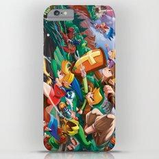 Zelda Mash Up iPhone 6 Plus Slim Case