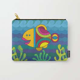 Stylize fantasy fish under water Carry-All Pouch