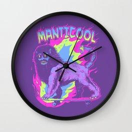 Manticool Wall Clock