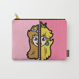 Old & New Princess Peach Carry-All Pouch