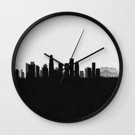 City Skylines: Los Angeles Wall Clock
