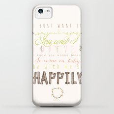 One Direction: Happily iPhone 5c Slim Case