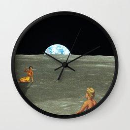 Stellar Sandcastles Wall Clock