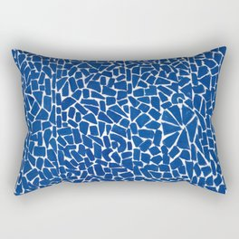 African American Masterpiece by Alma Thomas, Elysian Fields Rectangular Pillow