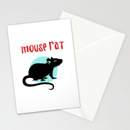 Mouse Rat Stationery Cards