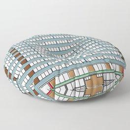 Edificio Las Américas Floor Pillow