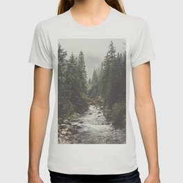 Mountain creek - Landscape and Nature Photography T-shirt