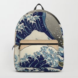 "Katsushika Hokusai ""The Great Wave off Kanagawa"" Backpack"