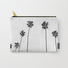 Black + White Palms Carry-All Pouch
