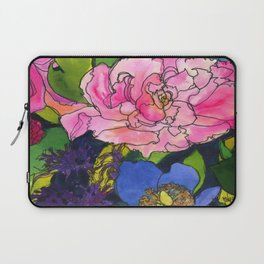 French Lavender & Roses Laptop Sleeve