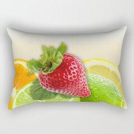 Fruit Collage Rectangular Pillow