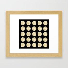 PolkaMoons Framed Art Print
