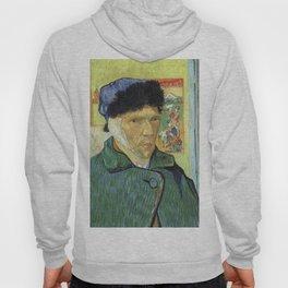 Self Portrait With Bandaged Ear Vincent van Gogh Hoody