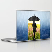 umbrella Laptop & iPad Skins featuring Umbrella by Cs025