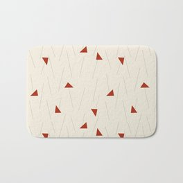 Minimal Winter Bath Mat
