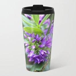 Purple Paradise Metal Travel Mug