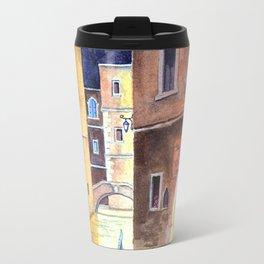 Venice Italy Evening Gondola Ride Travel Mug