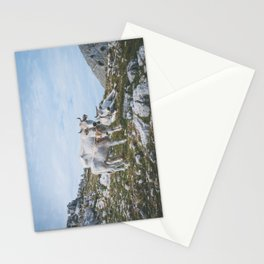 Mountain cows, Italy Stationery Cards