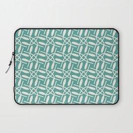 Banded Together - Geometric Aqua Laptop Sleeve