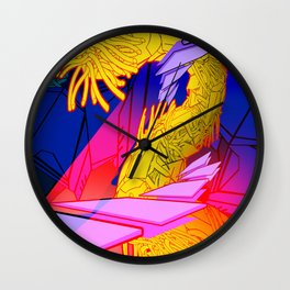 AUTOMATIC WORM 7 Wall Clock