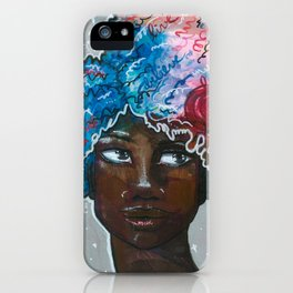 Dream Up Girl iPhone Case
