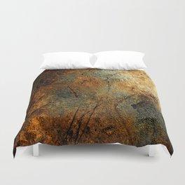 Rust Texture 69 Duvet Cover