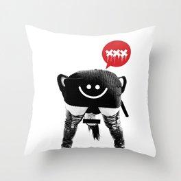 Pornfun Throw Pillow