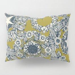 cirque fleur jalapeno Pillow Sham