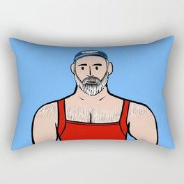 Beard Boy: Willis Rectangular Pillow
