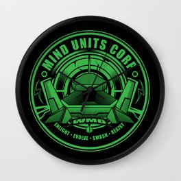 Mind Units Corp - Weapons of Mass Destruction Enlightened Version Wall Clock