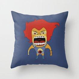 Screaming Lion-O Throw Pillow