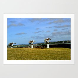 Fort Devonport Art Print