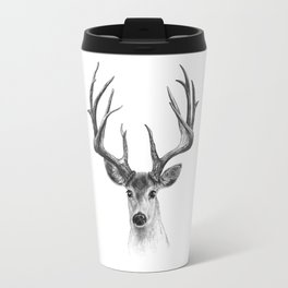 Red deer Travel Mug