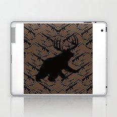 Bear with Buck Horns Laptop & iPad Skin