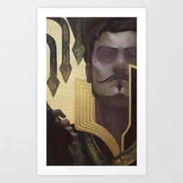 Dorian Pavus Tarot Card Art Print