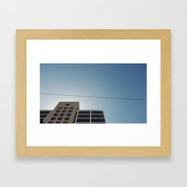 Streets  Framed Art Print