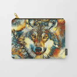 AnimalArt_Wolf_20170601_by_JAMColorsSpecial Carry-All Pouch