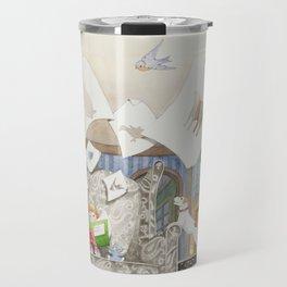 Nana's Sketchbook Travel Mug