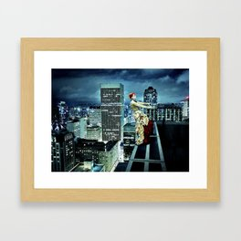 The Air Between my Fingers Framed Art Print