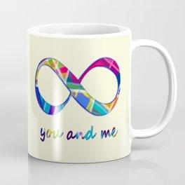 You and Me Infinity Coffee Mug