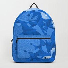 Share Secrets in Blue Backpack