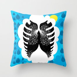 The Stars in Our Lungs - TFIOS Throw Pillow