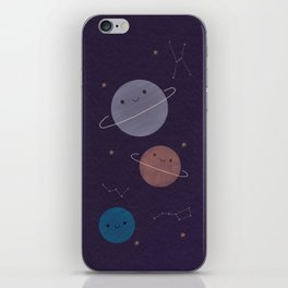 Kawaii Outer Space iPhone Skin