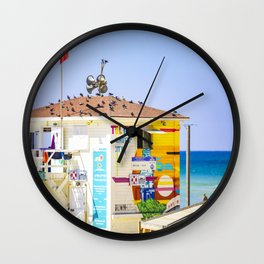 Tel Aviv NonStop City Wall Clock